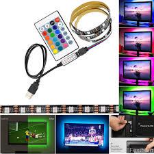 <b>USB</b> Powered RGB Color Change 5050 LED <b>Strips</b> Computer TV ...