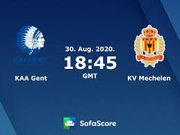 KAA Gent KV Mechelen Live Resultater - SofaScore