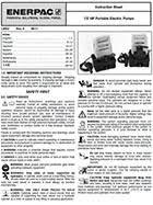 high pressure economy electric pump pu series hydraulic pump instruction manual
