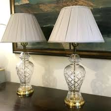 table lamps vase style table lamps ceramic vase teal table lamp pair of cut glass