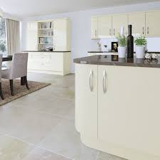 Cream Gloss Kitchen High Gloss Cream High Gloss Cream Kitchen Doors Cupboard