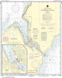 Noaa Nautical Chart 14919 Sturgeon Bay And Canal Sturgeon Bay