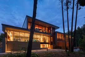 Trevor Homes Designs Modern Countryside Home Located Near Toronto Canada
