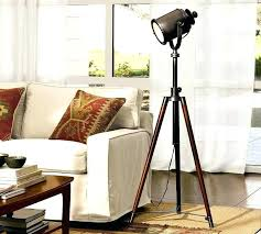 spotlight standing lamp spotlight standing lamp large size of pottery barn photographers tripod floor lamp copy cat chic bathroom spotlight standing lamp