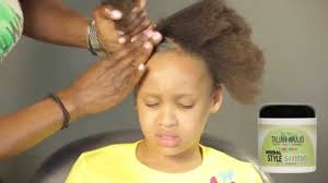 Childrens Hair Style how to detangle and style childs 4c hair childrens hair care 8743 by wearticles.com