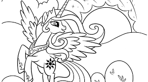 Free Printable My Little Pony Coloring Pages For Kids Creedence