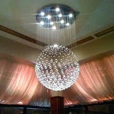round crystal chandelier chandelier fascinating round crystal chandelier round crystal chandelier ball crystal chandelier white roof