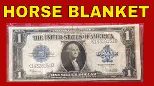 Rare One Dollar Silver Certificate Bill Worth Money Currency To Look For