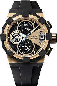 concord c1 mens 18k rose gold chronograph watch luxury concord c1 mens 18k rose gold chronograph watch