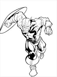 Small Picture Captain America Coloring Pages Super Hero Captain America