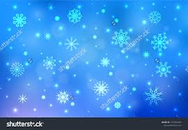 Light Blue Vector Texture Colored Snowflakes Stock Vector Royalty