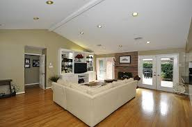 living room stylish vaulted ceiling recessed lighting modern sloped ceiling recessed lighting
