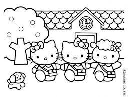 Small Picture Hello kittys house coloring pages Hellokidscom