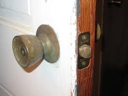 front door knob inside. Front Door Knob Inside And Old Doorknob Outside E