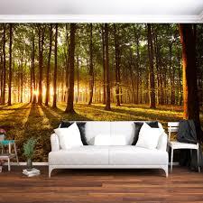 Fototapete Wald Sonne