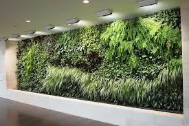 green wall lighting. attractive indoor garden design featuring natural green wall mounted plants and recessed ceiling lighting s