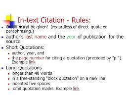 Apa Direct Quote Cool Apa Presentation Citation Brilliant Ideas Of Quoting Quotes In
