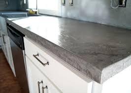 diy concrete countertops over laminate concrete over laminate