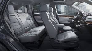 2017 honda cr v side view showing all of the seats
