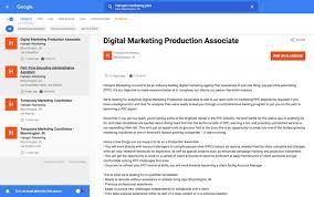 Digital Marketing Job Description Inspiration Googleforjobsjobdescription ScottServices Online Marketing News