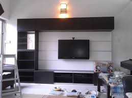 Small Picture Wall Mounted Lcd Tv Stand Design Rift Decorators