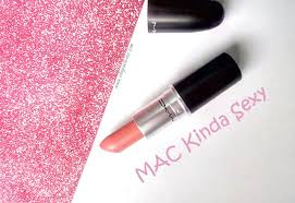 Review/Swatches of <b>MAC</b> Matte lipstick #<b>Kinda Sexy</b> - Elegant Eves
