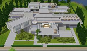 home inspiration picturesque sims 3 modern mansion floor plans house unique mod the hollywood luxury