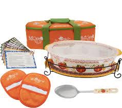 Cupcake Kitchen Decor Sets Temp Tations Bakeware Kitchen Food Qvccom