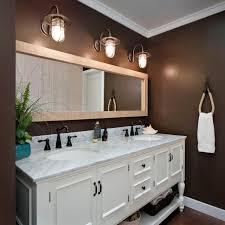 Chocolate Brown Bathroom Small Walls Cabinets Ideas Bathroomte