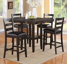 tahoe 5pc counter height dinette set 429 table 40 x 40 x 36 h chair 17 x 17 x 39 h c m 2630