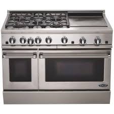 gas range with griddle. Beautiful With DCS Ranges 48Inch Natural Gas Range With Griddle By Fisher Paykel  RGT And E