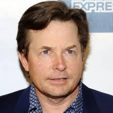 Michael J. Fox  - 2018 Light brown hair & classic hair style.