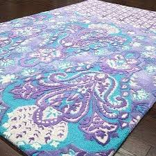 blue and purple rug rug turquoise purple hand tufted wool and art silk rug with a blue and purple rug blue and purple area