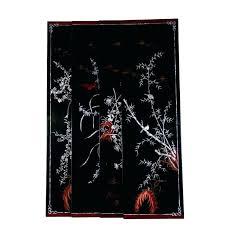 chinese wall art panels wall art panels four black lacquer wood wall art panels home theater chinese wall art