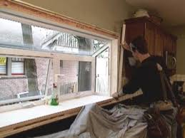 Garden Kitchen Windows How To Install A Garden Window How Tos Diy