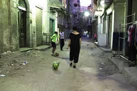 walking a watermelon in cairo heba amin heba amin walking the watermelon in cairo public performance