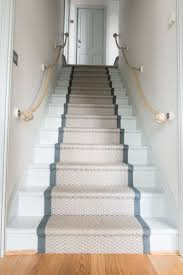 Stair runner is to narrow for steps. Makes it look like a landing strip.