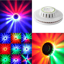 Rotating Color Light Ingleby Sunflower Led Stage Light Magic 7 Color Rgb Rotating Lights For Childrens Party Wedding Birthday Celebration Event Lighting Show