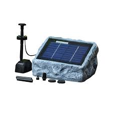 Solar Water Pump Kit With Led Lights Solar Stone Water Pump Two 2 Watt With Led Light Fountain