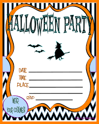Blank Halloween Invitation Templates 5 Halloween Party Invitation Templates Free Plastic Mouldings