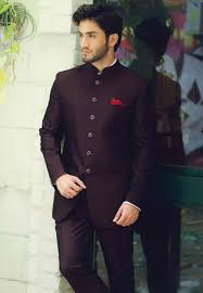 Jodhpuri Jackets Indian Designers Wine Color Designer Jodhpuri Suit