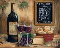 wine cork wall art painting les vins by marilyn dunlap on large wine bottle wall art with wine cork art fine art america
