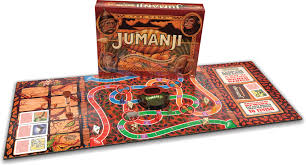 Jumanji Wooden Board Game Amazon Cardinal Games Jumanji the Game Action Toys Games 8