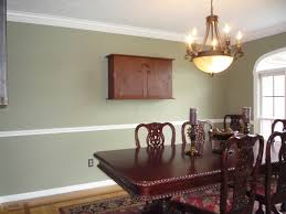 Add To The Chair Rail And Paint It All White  Dining Room Modern Dining Room Chair Rail