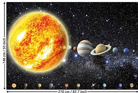 wallpaper solar system planets mural decoration galaxy cosmos e universe all sky stars galaxy universe earth i paperhanging wallpaper poster wall decor