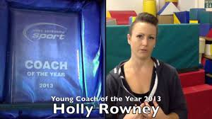 wysport young coach of the year 2016 holly rowney