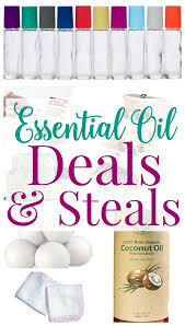 essential oil deals and steals