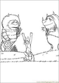 Small Picture Where the Wild Things Are coloring pages Ms Chlo Pinterest