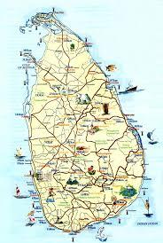 Sri Lanka Maps Printable Maps Of Sri Lanka For Download