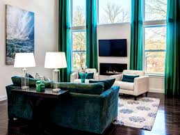 Turquoise Living Room Curtains Furniture Mesmerizing Turquoise Living Room Curtains And